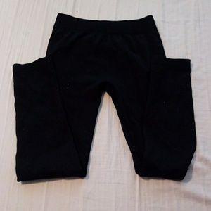 Hot kiss black winter leggings size small medium